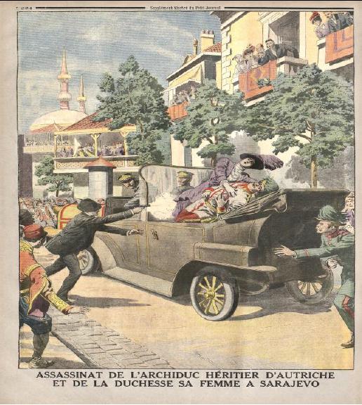 Le quatrain I-26 et la Première Guerre mondiale (1914).