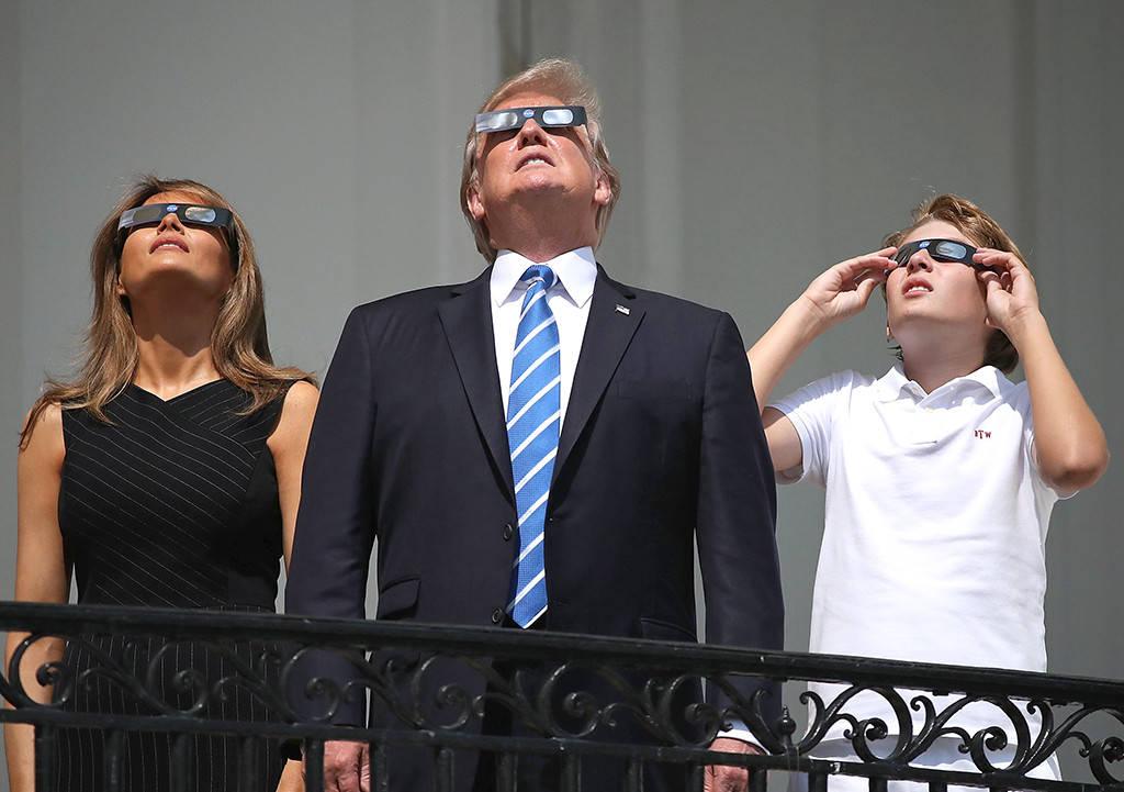 L'éclipse du 21 août 2017 annonce-t-elle la chute de Donald Trump ?
