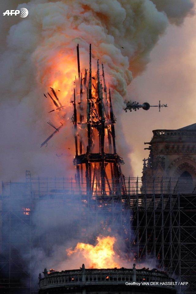 Notre Dame : Paris a perdu sa protection spirituelle.