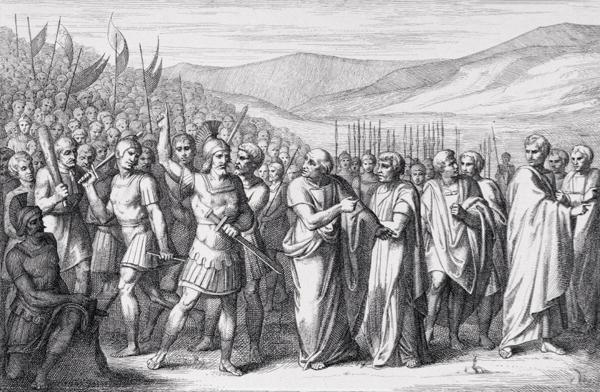 La lutte entre plébéiens et patriciens (Henri 60).