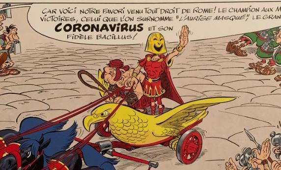 Le corona virus et numérologie sataniste.