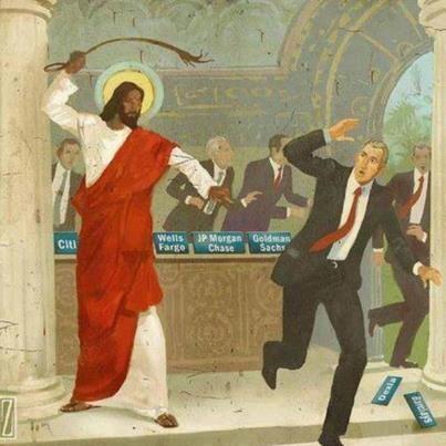 Marchands du temple et extrême droite.