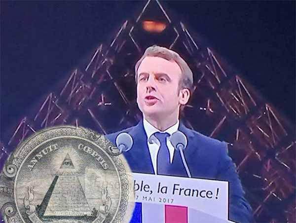 Macron et la bête de l'Apocalypse.