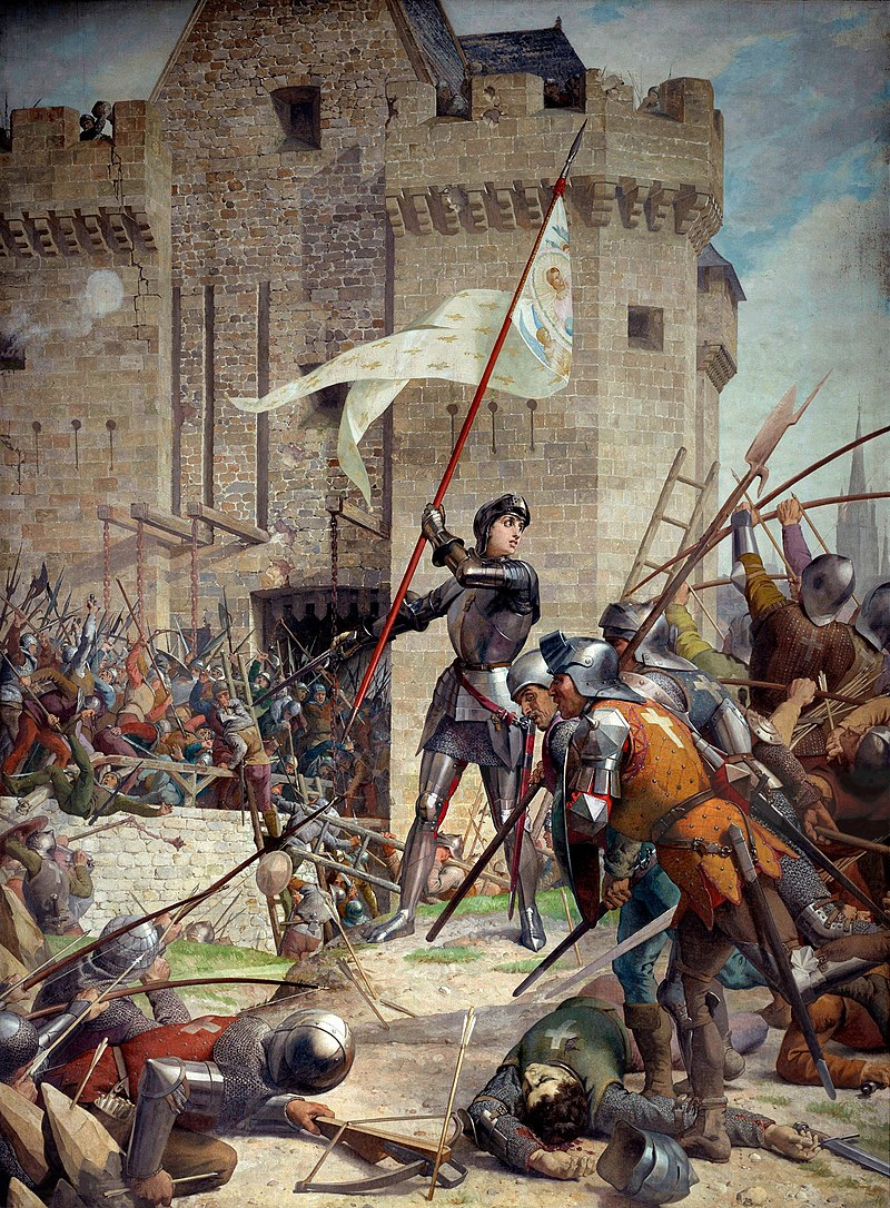 La prophétie de Merlin et sainte-Jeanne d'Arc.