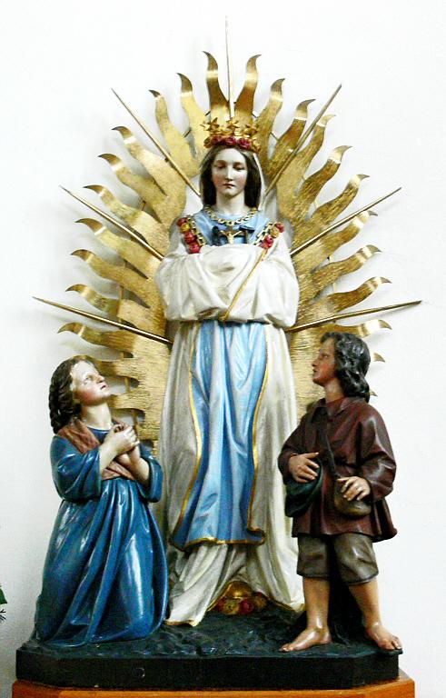 Les deux secrets de la Sainte-Vierge à La Salette.