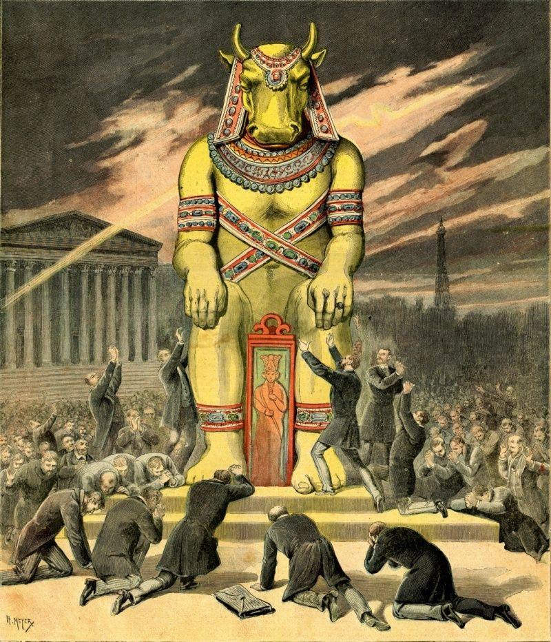 Les bêtes de l'Apocalypse : la bête de la terre et l'argent (2).